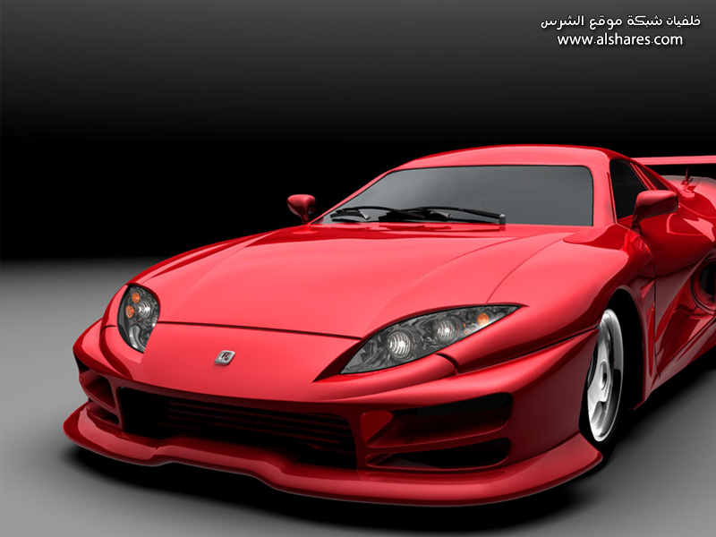 red car wallpaper. WaLLpAper GaLLery - موقع الدي في دي العربي - DVD4ARAB.